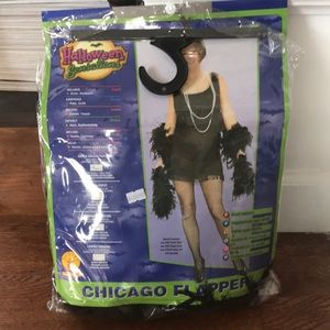 Halloween sensations flapper costume
